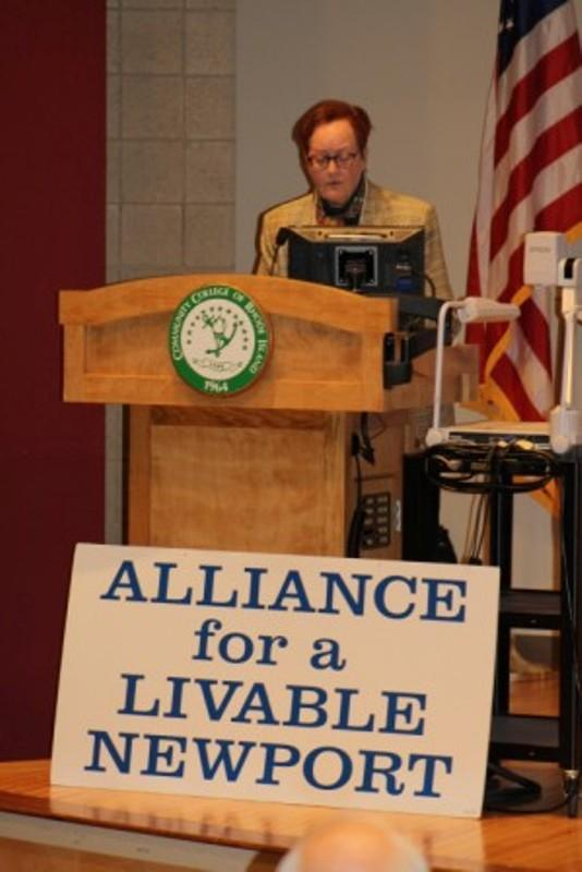 Isabel Griffiths, President ALN