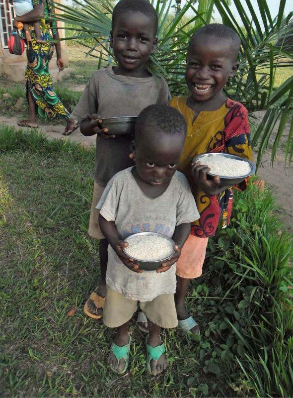 Relief project, Central African Republic, 2013