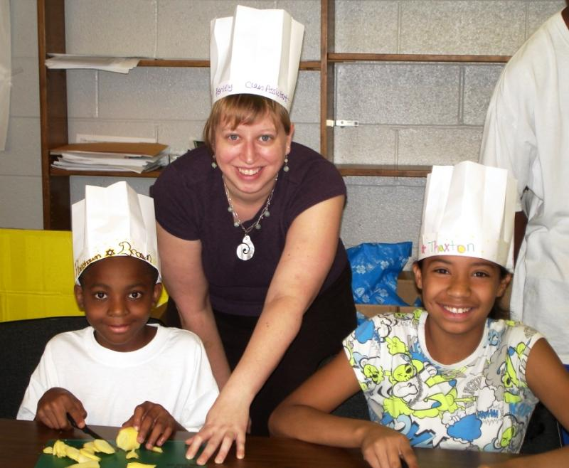Cooking Matters nutrition education with kids