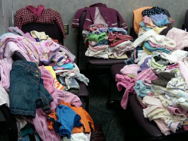 CWUW Clothing Drive