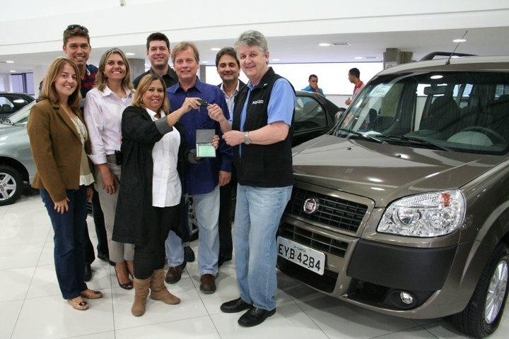 Assembleia Legislativa de São Paulo donated a brand new Fiat Doblo to Star of Hope in Brazil