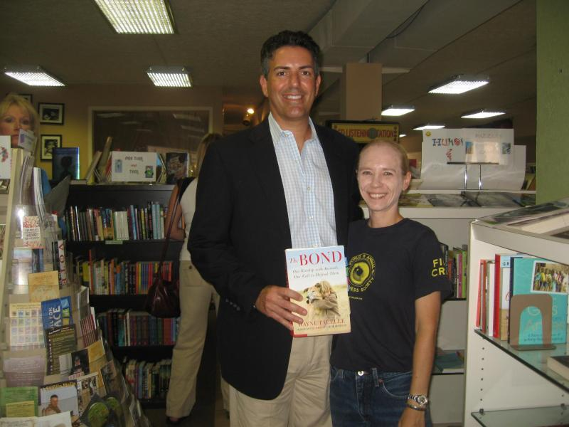 HSUS CEO Wayne Pacelle with the World Animal Awareness Society