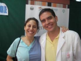 Medical professionals during a 2009 training in Sensuntepeque, El Salvador.