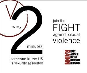 Every 2 Minutes Someone in the US is Sexually Assaulted