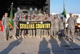 The Steeler Nation goes to Afghanistan!