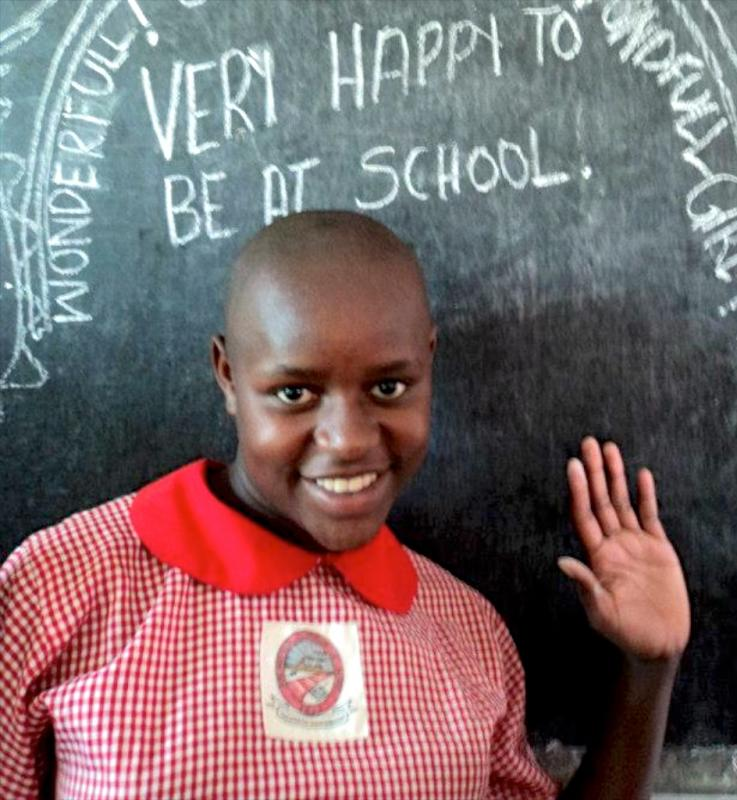 Students really appreciate the AAH donors and child sponsors who make it possible for them to go to school.