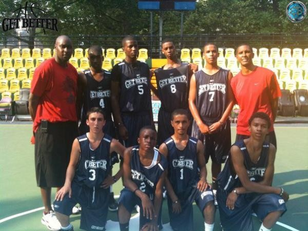 Rico's Get Better Elite Travel Basketball Team in New York City @ Rucker Park