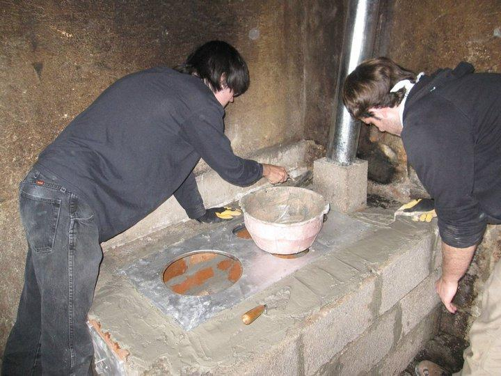 An Improved, Fuel-Efficient Stove nearly Finished!