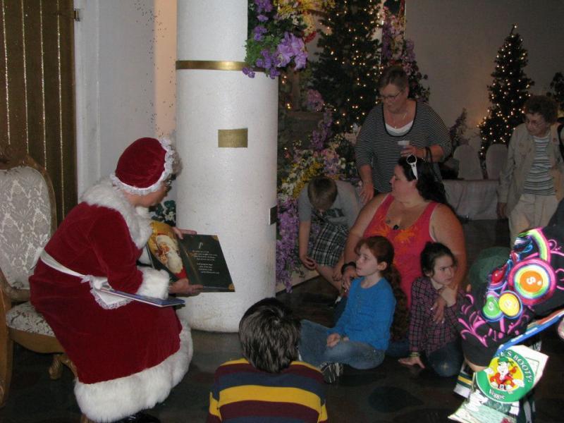 Sensitive Santa Holiday Event