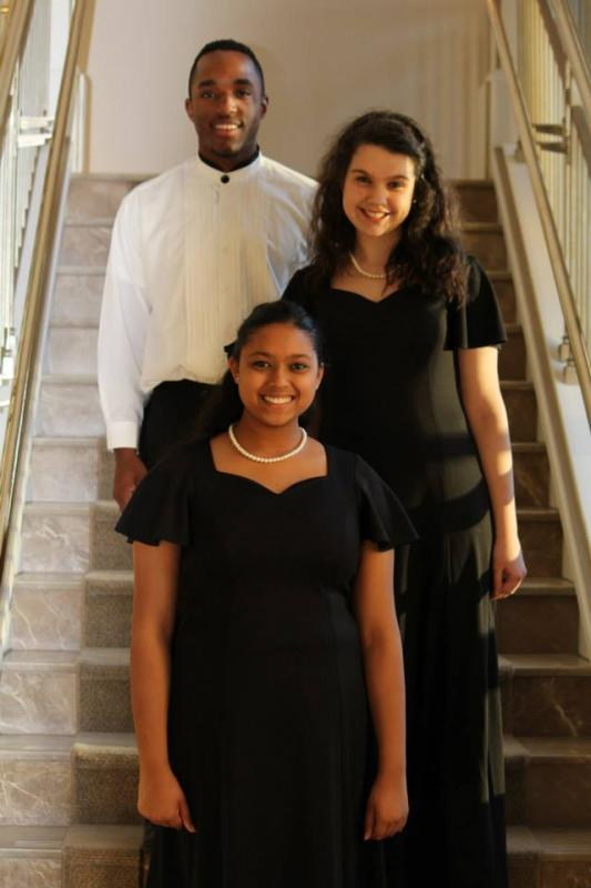 Seniors 2014 prior to their last concert with Nashville Symphony as a MET Singer, January 2014