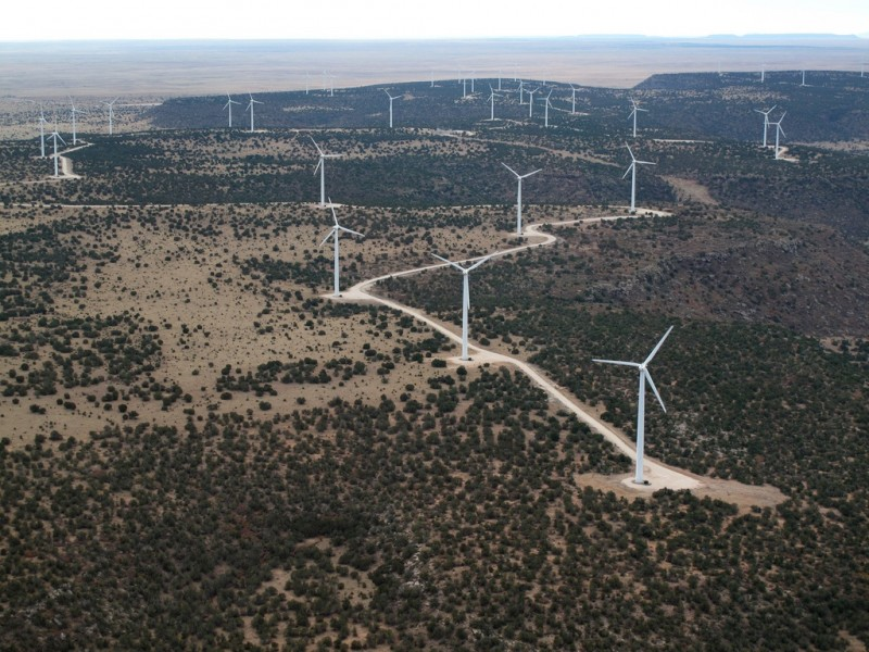 Wind Turbines, New Mexico