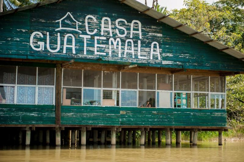 Only accessible by water, Casa Guatemala offers an education, healthcare and a home to over 200 children each year