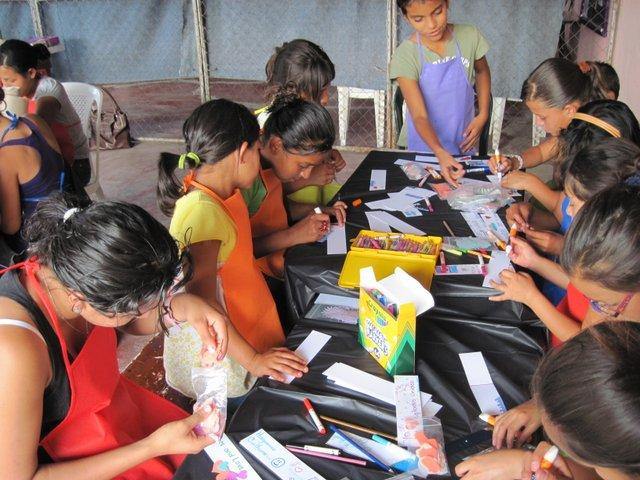 Volunteer-led Craft Project (2012)