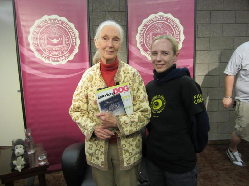 Dr. Jane Goodall & the World Animal Awareness Society