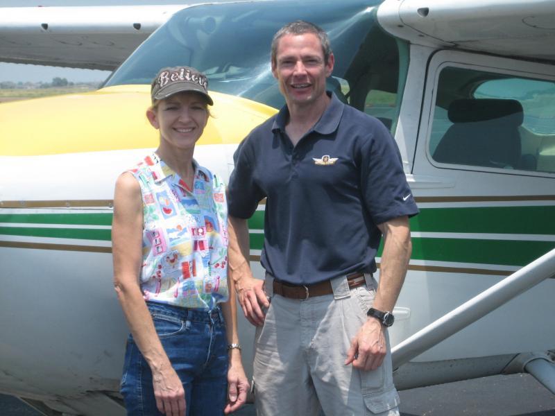 Pilot Charles Shumaker flew Tanya Clingman from Waco, TX to Houston, TX.