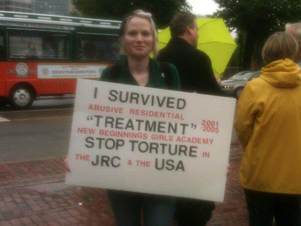 Brittany takes a stand at Occupy JRC