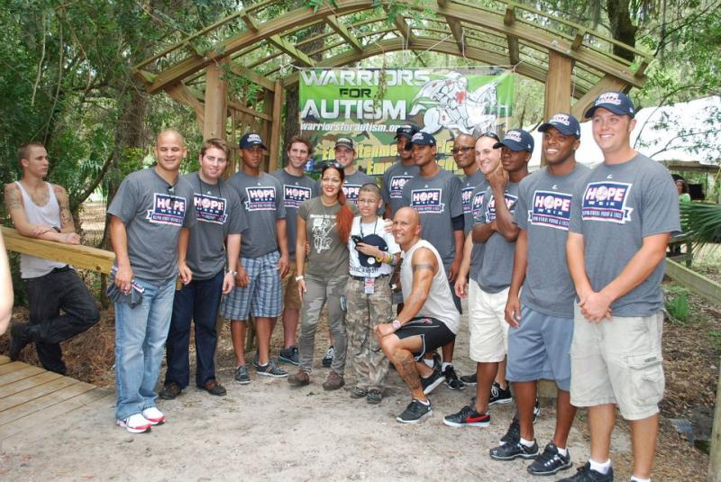 Tampa Yankees @ our Summer Camp Kickoff Event 2012