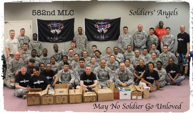 Soldiers' Angels provided support to the 582nd MLC at Fort Hood.