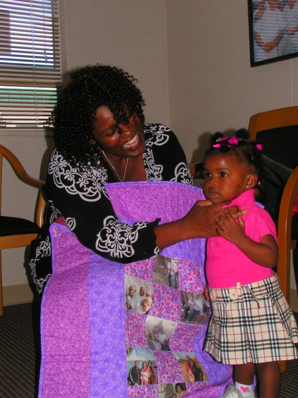 Our Free Operation Kid Comfort Program has given over 2,000 quilts to military children of deployed