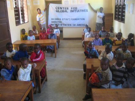Tanzania: First Kindergarden Class