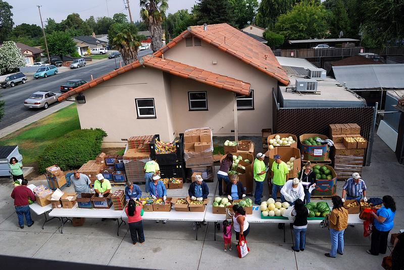 Produce Mobile at St. Joseph's in Gilroy, CA