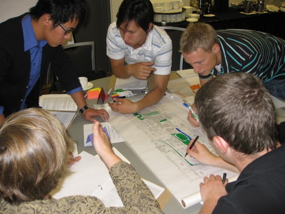 Planning charrette for British Columbia Institute of Technology