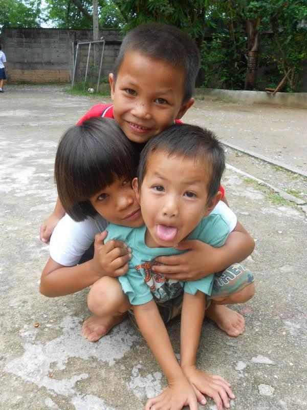Some of our children in IHF Chiang Rai