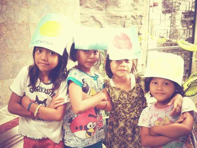 Some of our children in IHF Medan Center