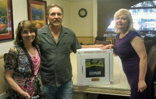 AED Donation to Oak Grove School in Murrieta, Ca
