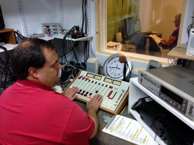 Getting volunteer-read program on the air.