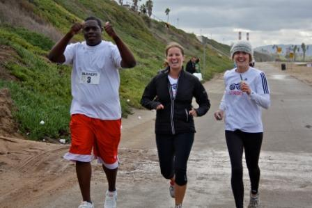 Los Angeles Schweitzer Fellows launched a running program for at-risk youth.