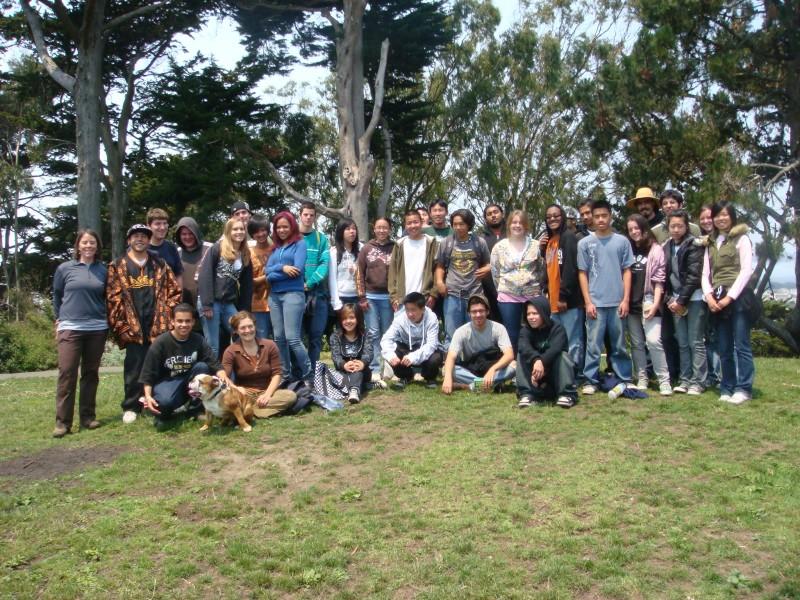 Summer Gardening Crew 2008!