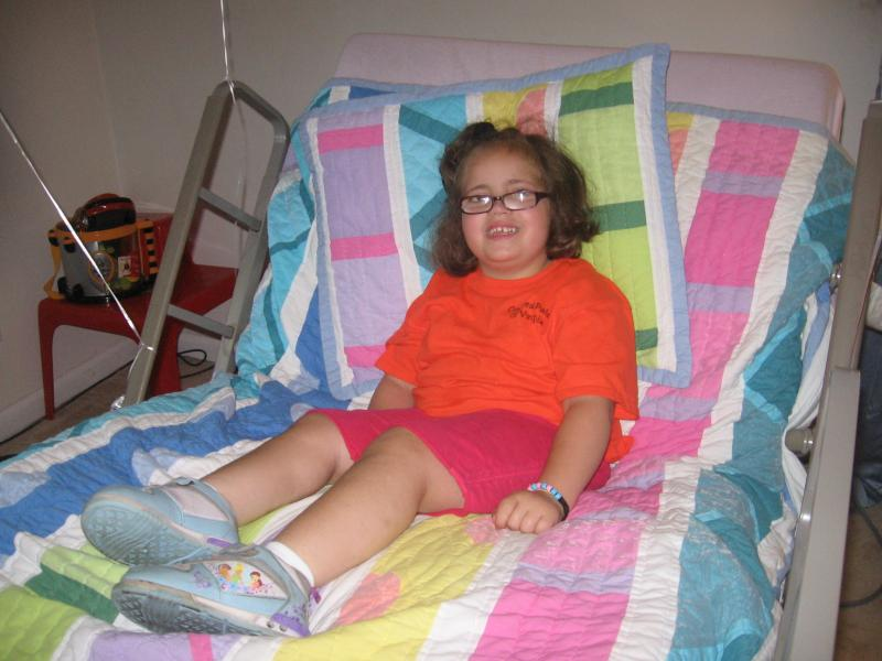 Ruth's donated bed