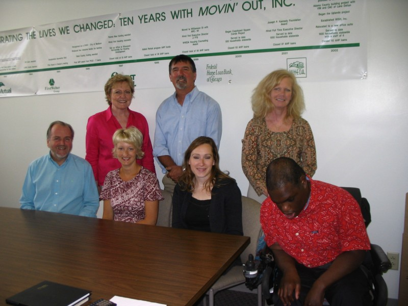 Movin' Out, Inc. Staff 2010
