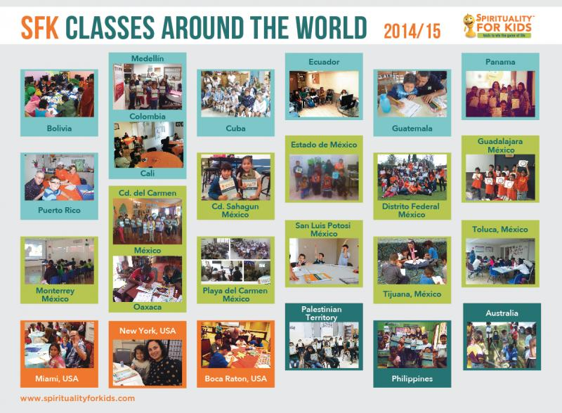 SFK Classes Around the World