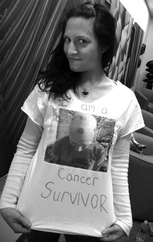 Apryl from Children's Teen Cancer Survivor Circle