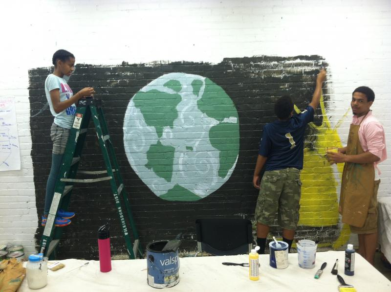 Art Expression EcoSmART program mural