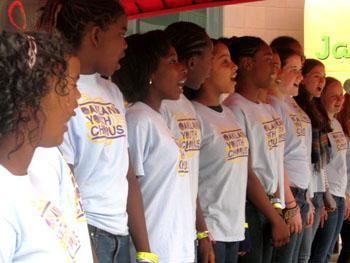 Concert Chorus performs at Art N Soul 2012