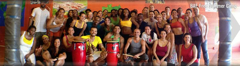 Samba and Capoeira Free Summer Camp | Brazilian Arts Foundation