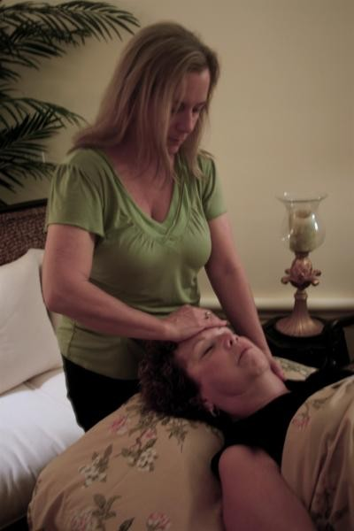 Healing Touch when you have a breast cancer diagnosis