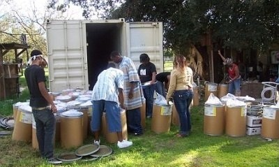 BSU Volunteers and Relief, Inc. Founder at work.