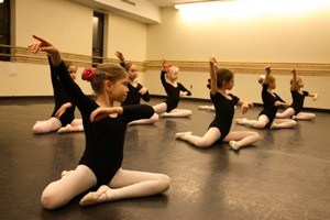 Students of Advanced Division of BBT/School of Russian American Ballet at Kingsborough