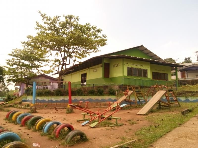 School in Vietnam renovated thanks to generous donors.