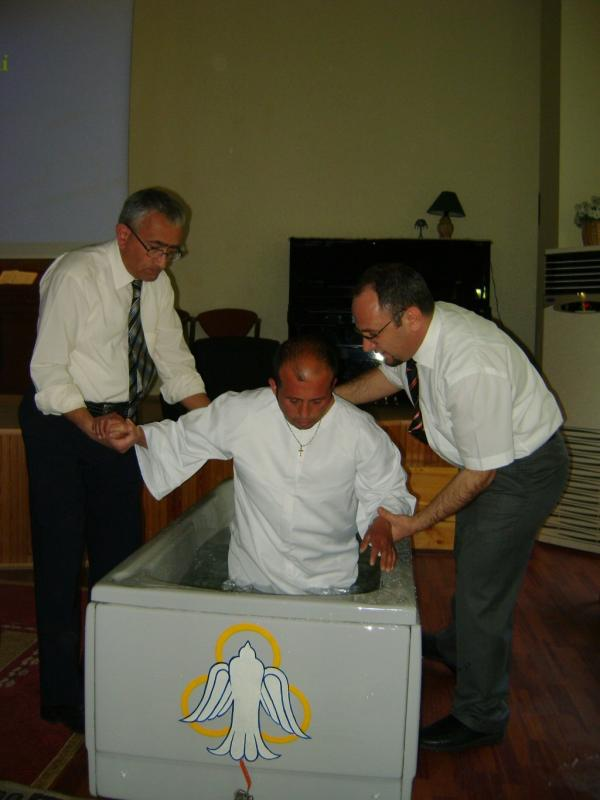 Baptism in Turkey, 2013