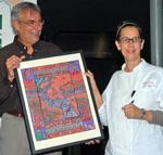 GRN board members Jose Miranda & Chef Susan Spicer @ her restaurant MONDO in New Orleans