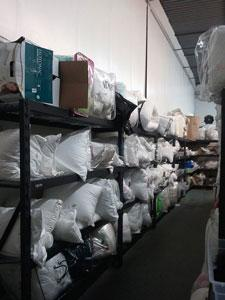 Bedding, hygiene and cleaning supplies are just a few of the items available.