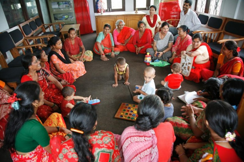 Women's Empowerment section in a READ Center