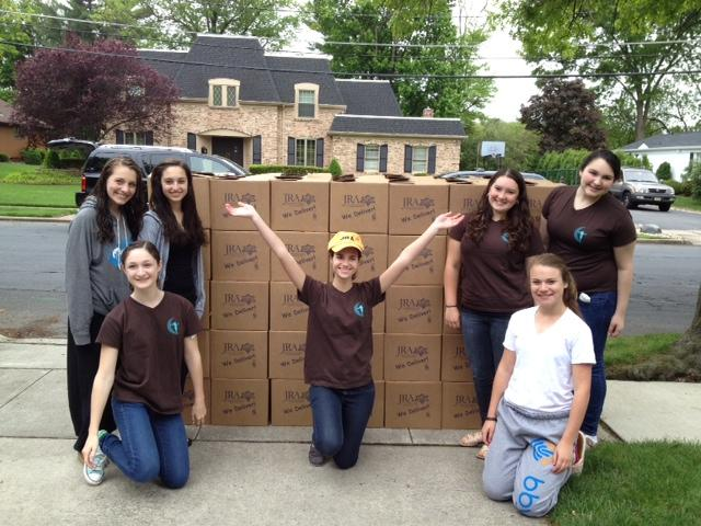 Rosh Hodesh: it's a Girl Thing! Group from Temple Beth El of Voorhees, NJ