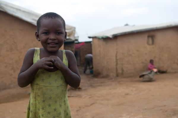 Community Technology Access Centre client at Kiziba Refugee Camp, Rwanda