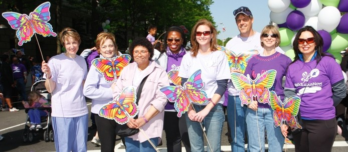 LFA-DMV Board at our 2010 Walk for Lupus Now, DC